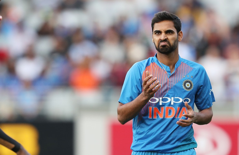 Bhuvneshwar Kumar has his sights set on taking part in a World Cup final at Lord's