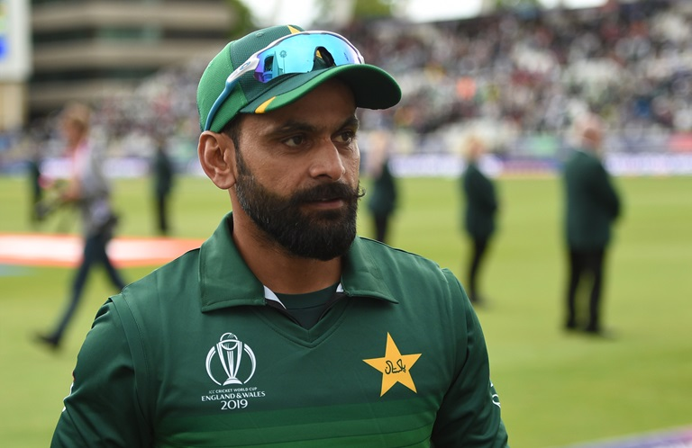 Mohammad Hafeez impressed with bat and ball against England // Getty