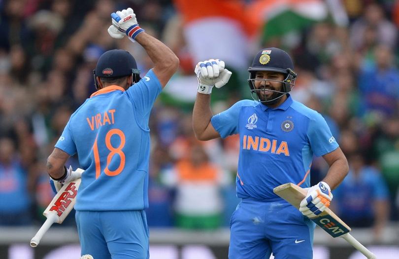 LIVE: Rohit, Virat star as India set Pakistan 337