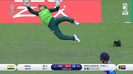 Classic catch not enough as India thump SA