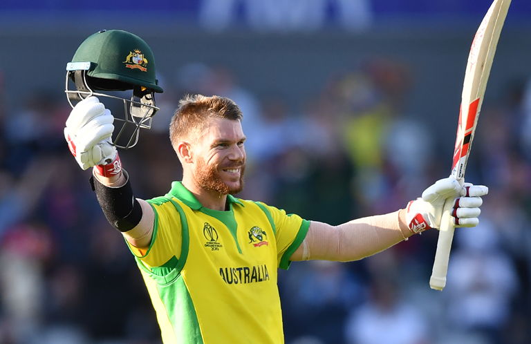 David Warner has been a prolific run-scorer this World Cup // Getty