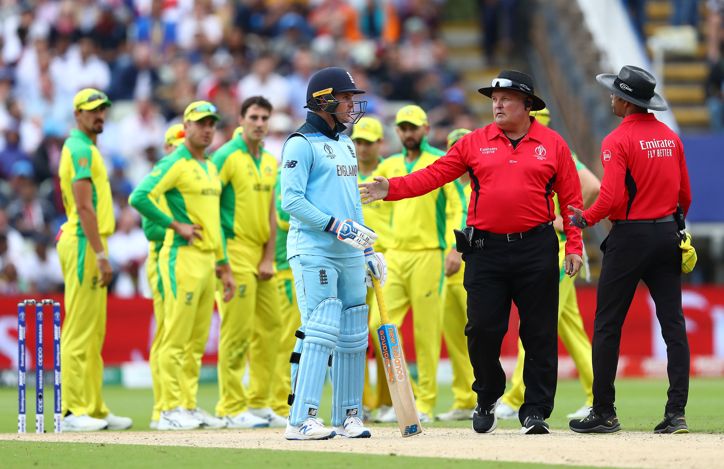 Umpires named for World Cup final