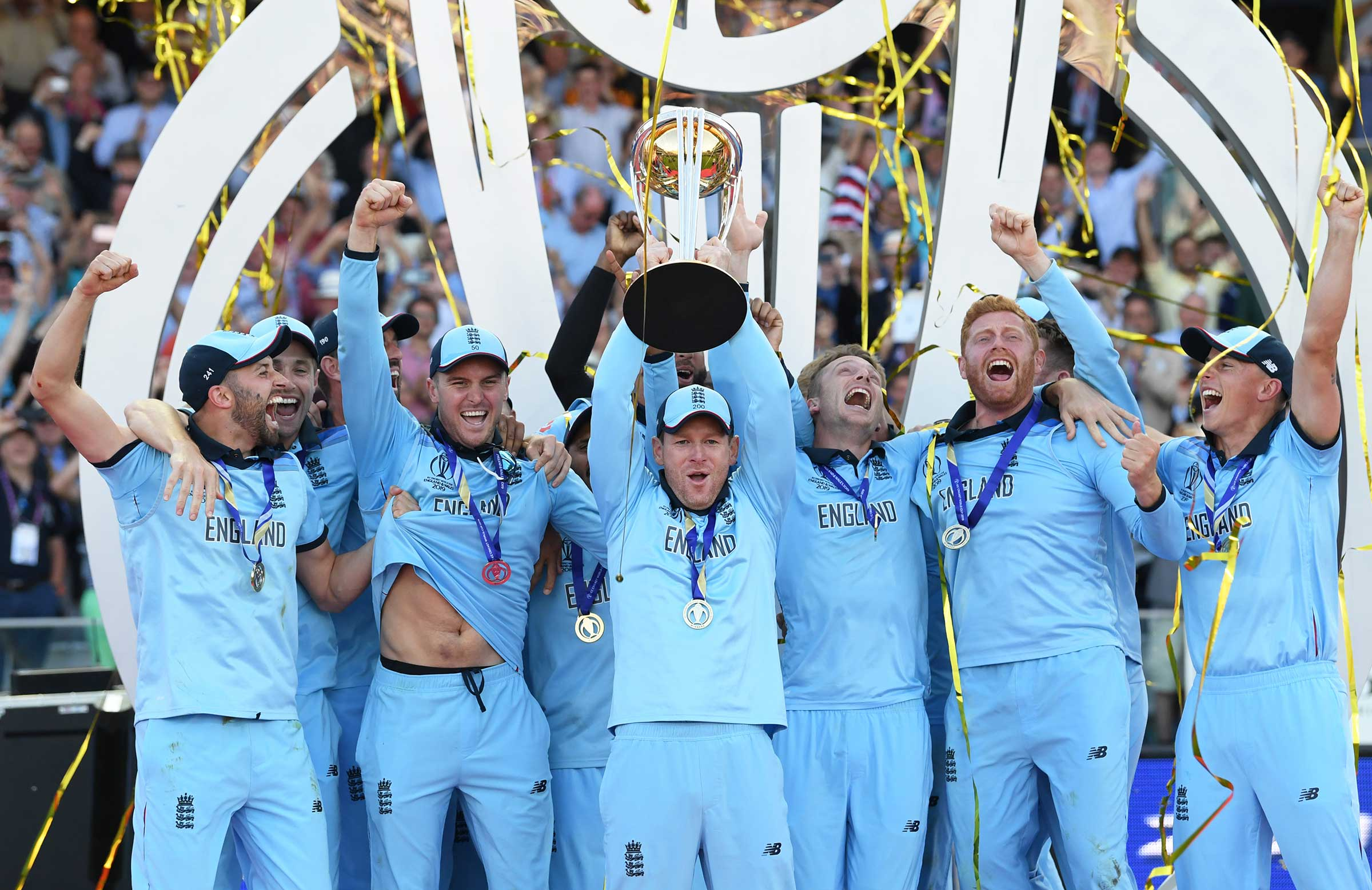 England claim the World Cup after a Super Over
