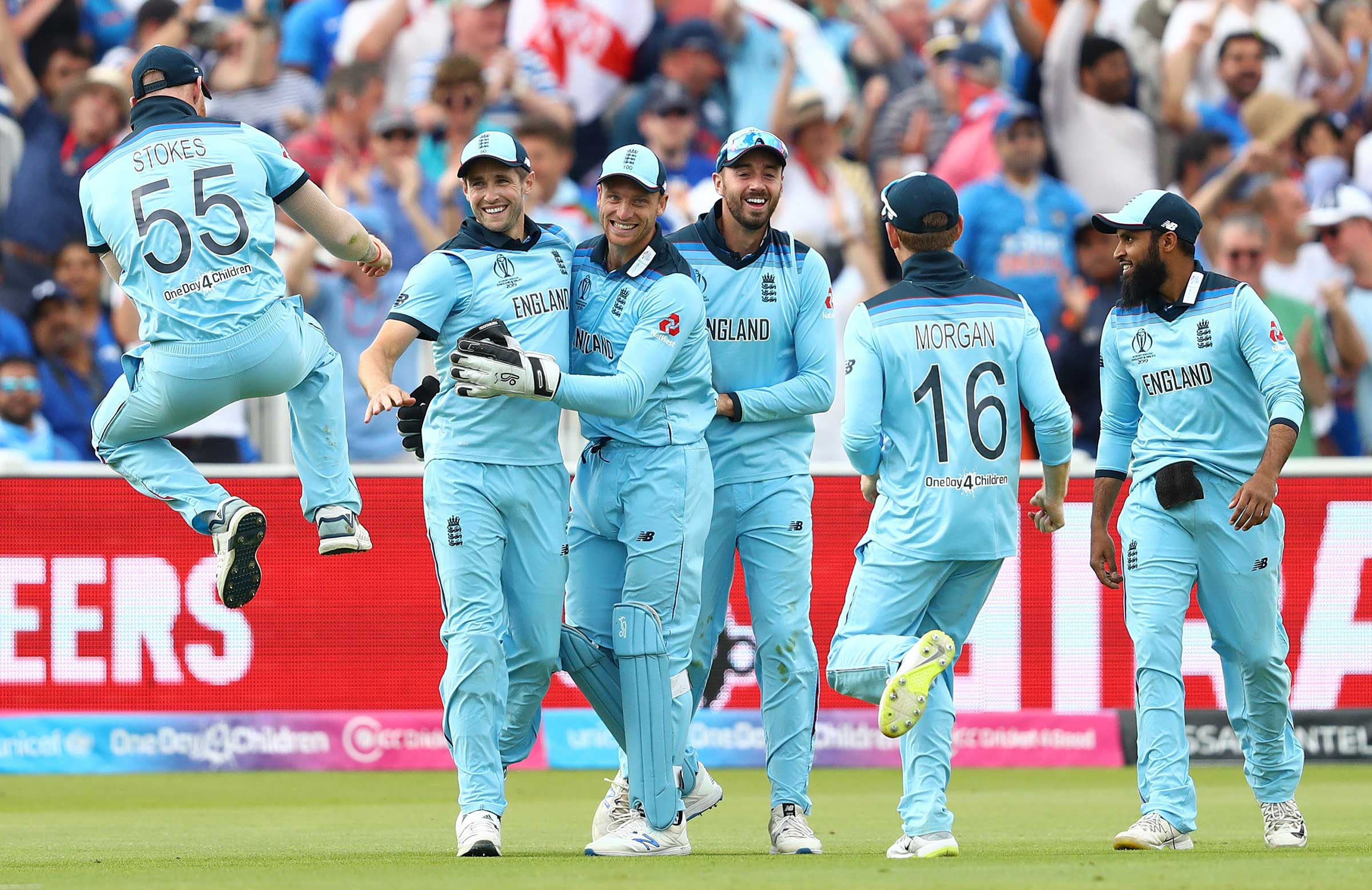 England stun India to leap back into finals race