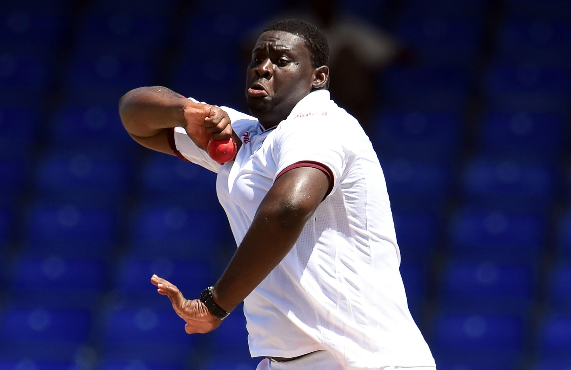 Windies include Cornwall for India Tests