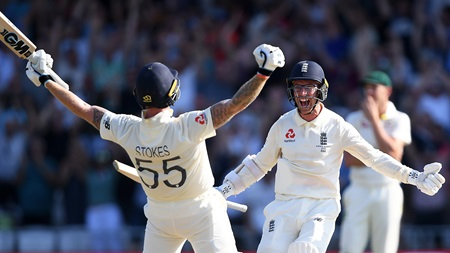 Day four wrap: Stokes heroics seals miracle one-wicket win