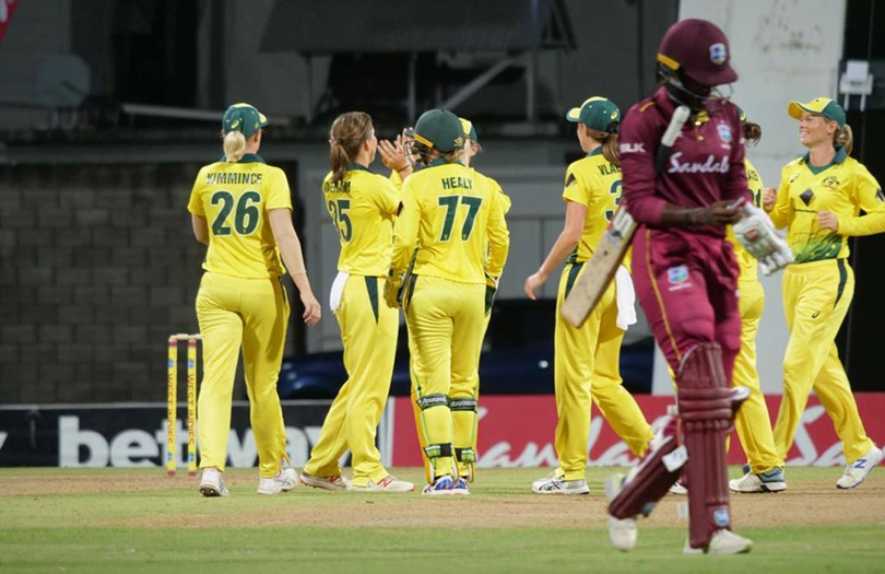 Aussies sweep Windies with T20 thrashing