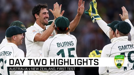 Starc stars, Hazlewood hurt, Smith flies on dramatic day