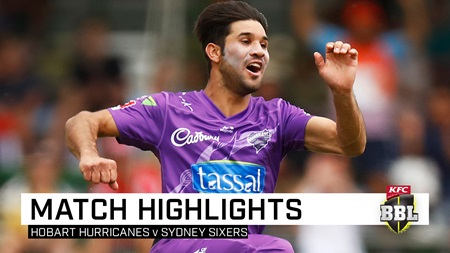 Open-shut Qais: Hurricanes snatch thrilling win over Sixers
