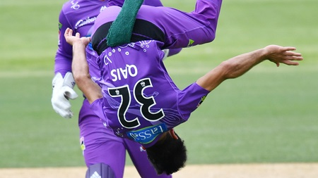 Qais Ahmad flips game with three wickets in four balls