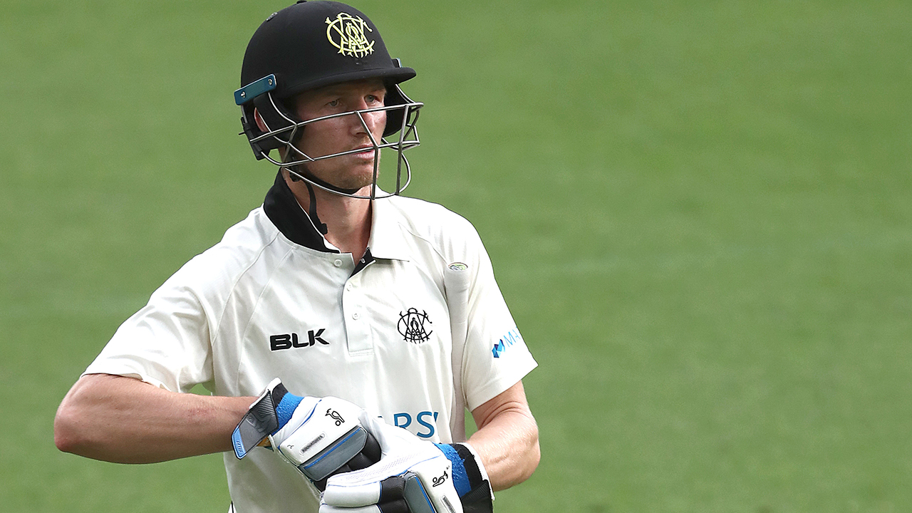 Inside edge sees Bancroft caught at leg gully again