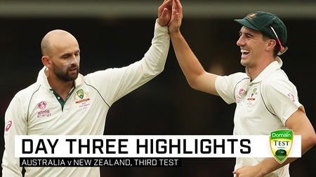 Aussie lead swells after Lyon helps roll Black Caps