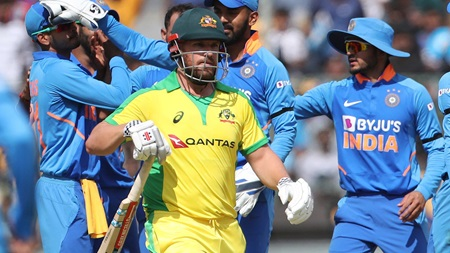 Finch fumes after run out in series-deciding ODI