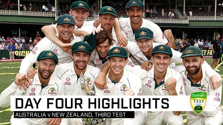 Lyon grabs five as Australia complete perfect summer