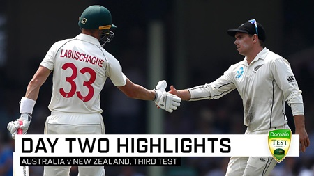 Labuschagne's double leaves NZ with a mountain to climb