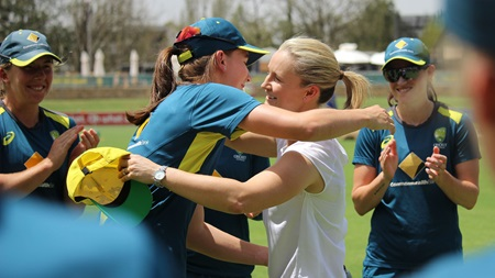 Sutherland becomes Aussie women's T20I rep No.53