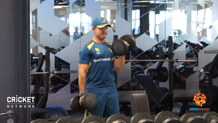 Aussies get physical in Jo'burg ahead of T20 series