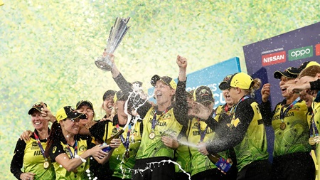 Champions, again! Aussies create history on home soil