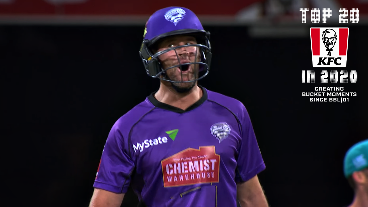 Biggest BBL Moments No.18: Christian hits the roof