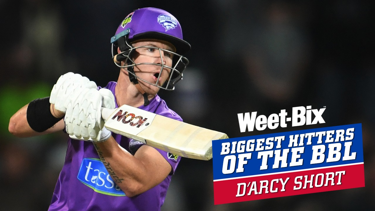 Biggest Hitters of the BBL: Best of D'Arcy Short