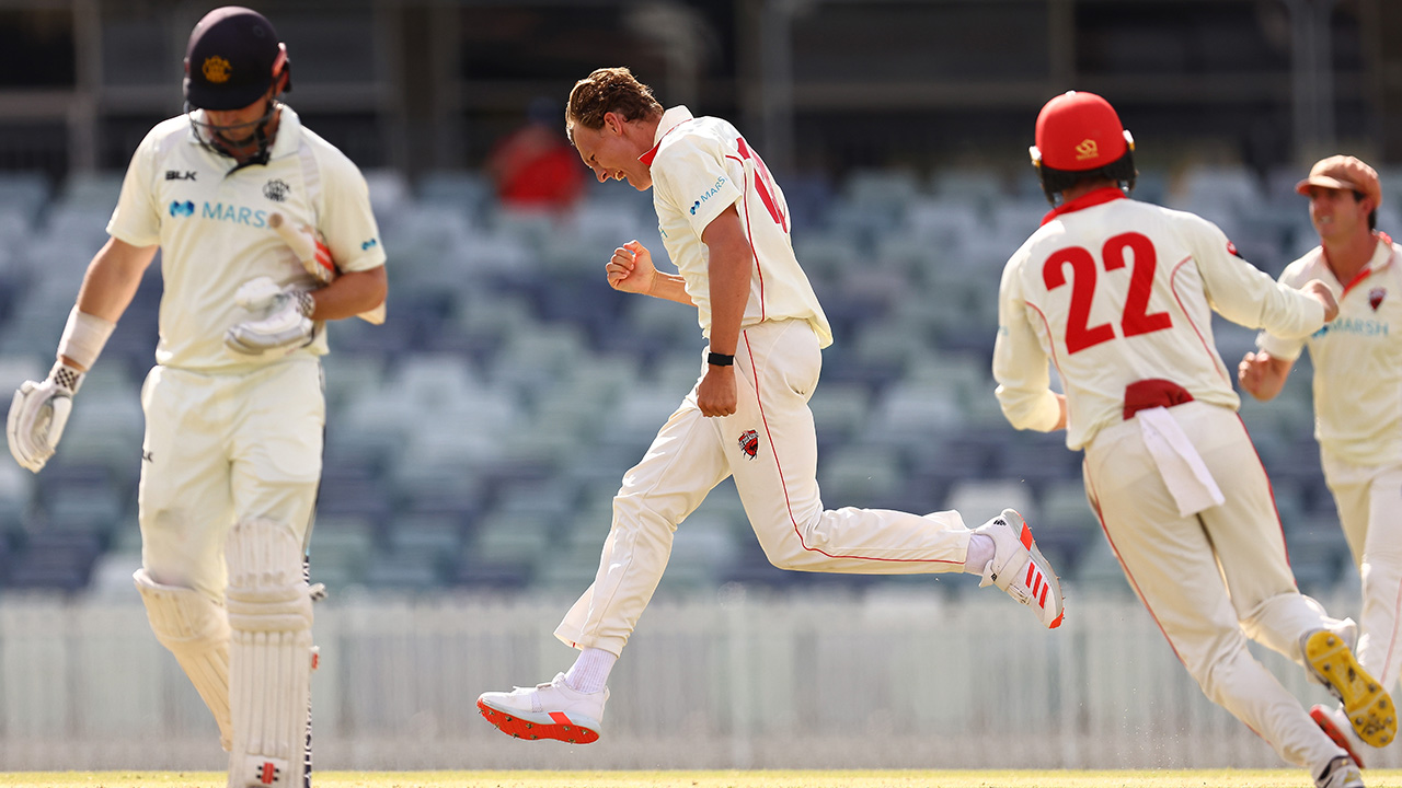 Grant gives SA a sniff with impressive four-wicket haul