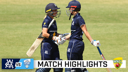 Match wrap: Classy Vics cruise past Breakers by eight wickets