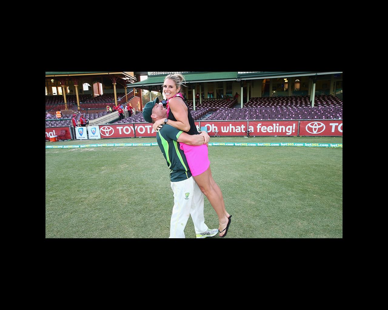 Warner, Falzon welcome first child   cricket com au