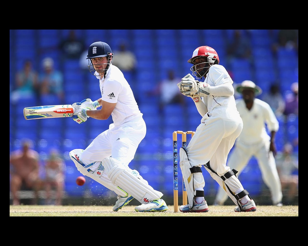 separation shoes c3139 5be48 England make light work of St Kitts XI