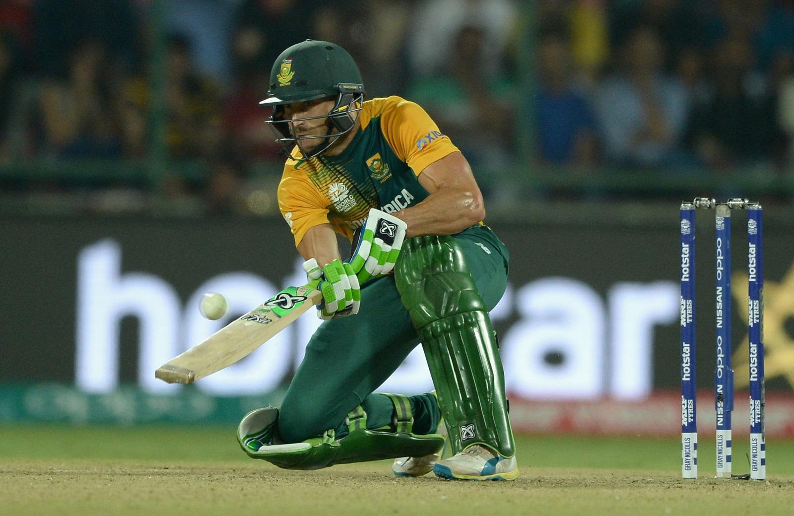 Du Plessis fined after controversial decision   cricket.com.au
