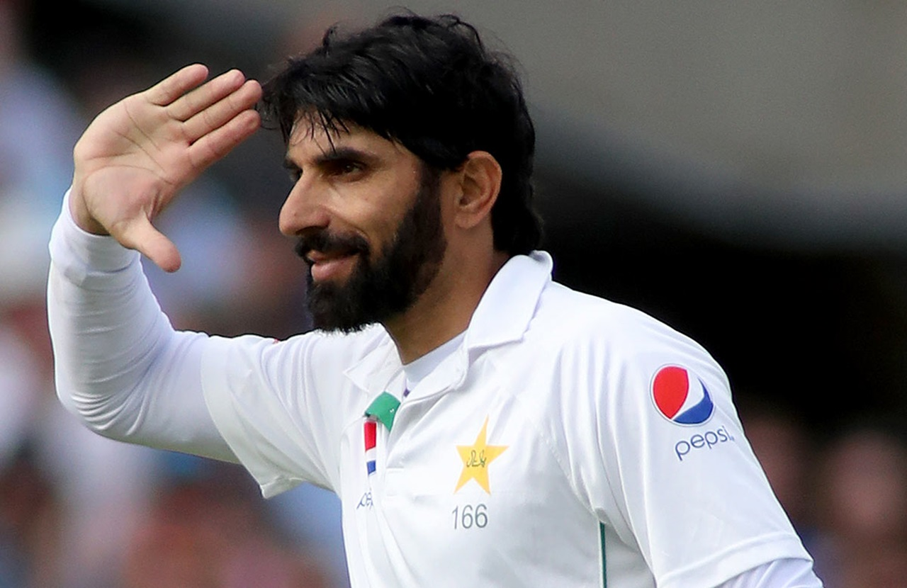 Image result for misbah salute