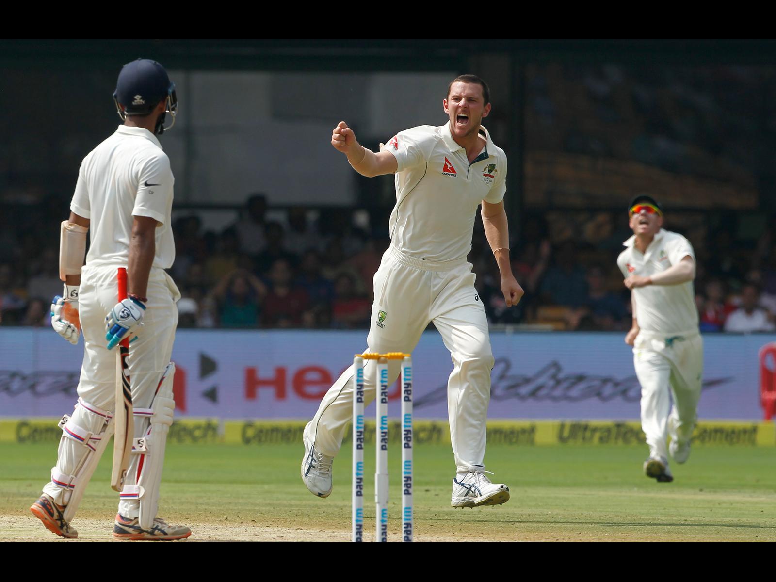 Hazlewood drops despite career best | cricket com au