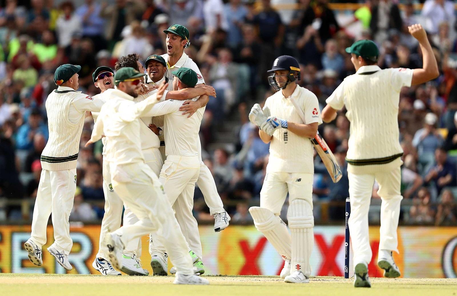 Ruthless Australia Regain The Ashes Cricket Com Au