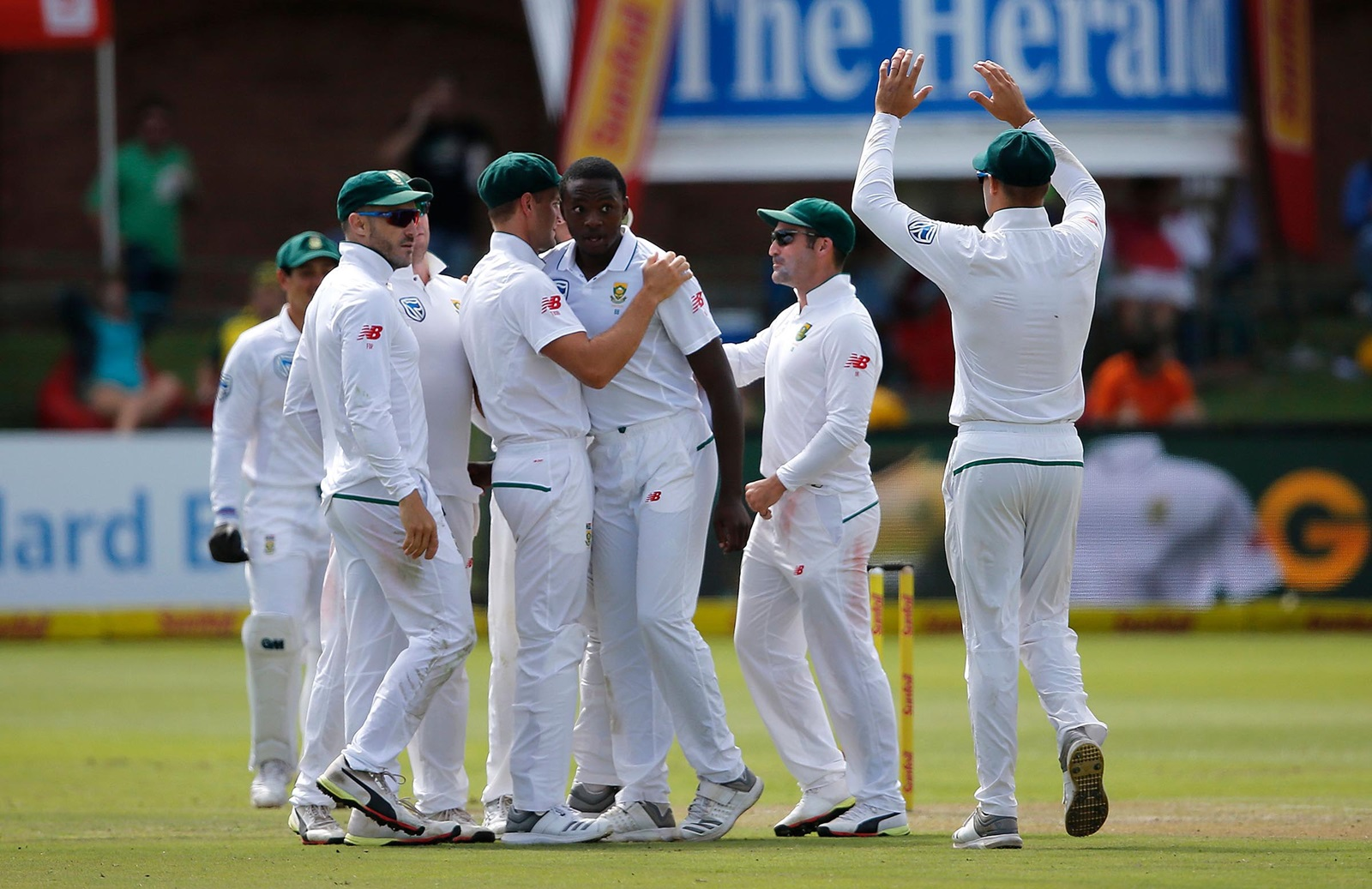 1486abc55ab South Africa on top after Rabada burst