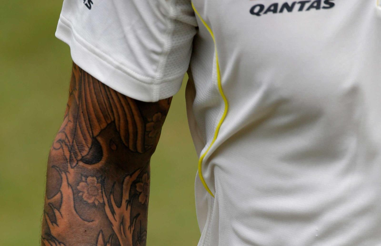 e832eb165c042 Gallery: Cricket's best tattoo art | cricket.com.au