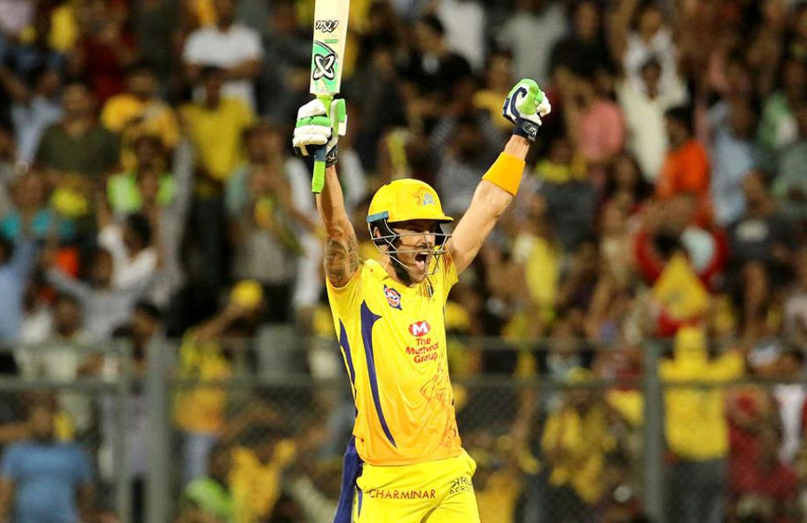 Du Plessis blasts Chennai into final | cricket.com.au