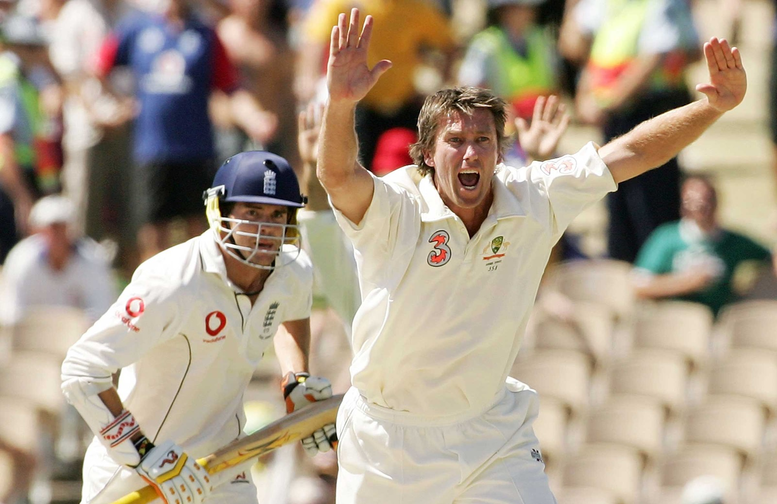 Anderson Will Never Be Beaten Says Mcgrath Cricket Com Au