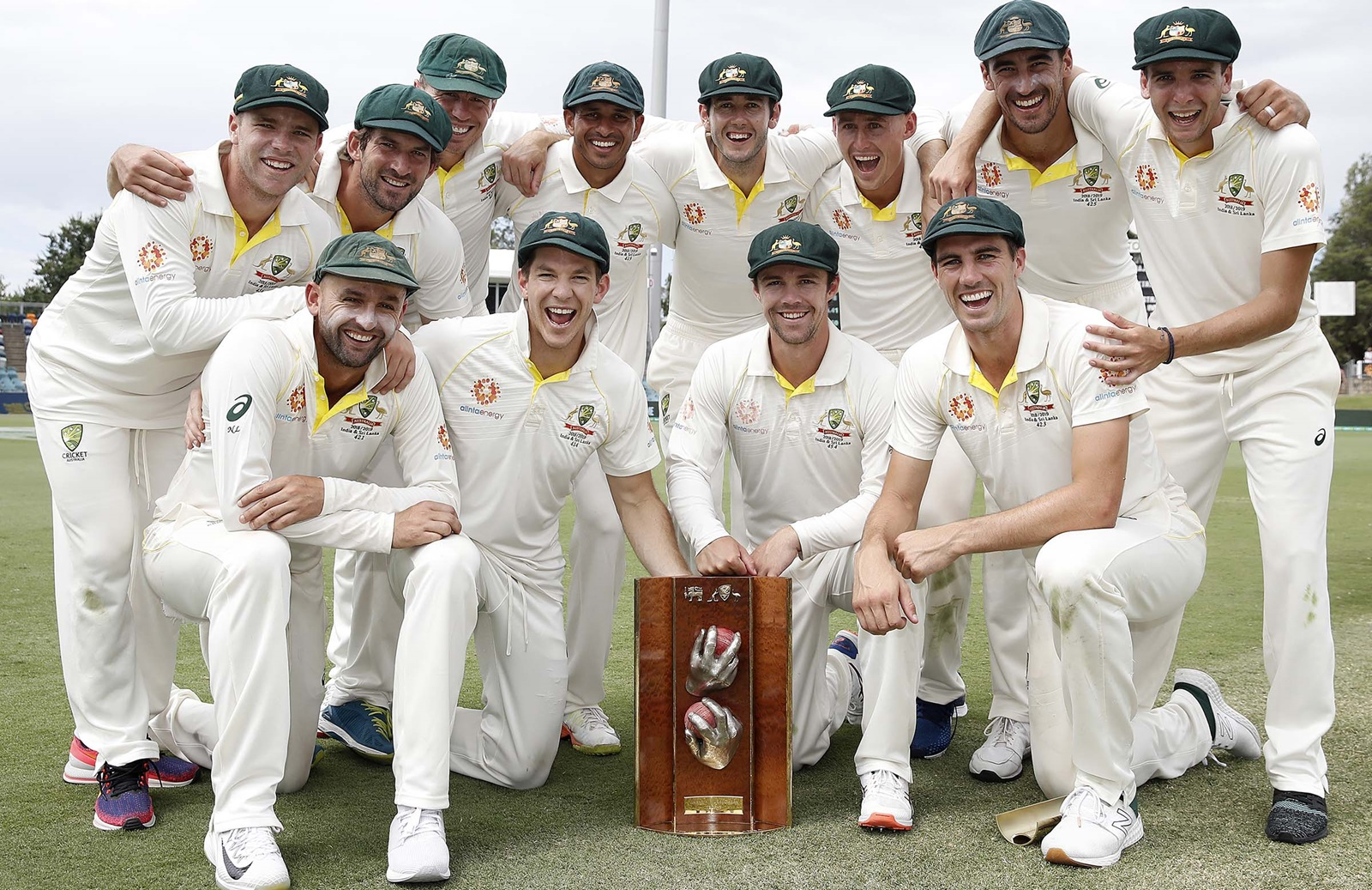 Australia Wrap Up Sweep Over Sri Lanka Cricket Com Au