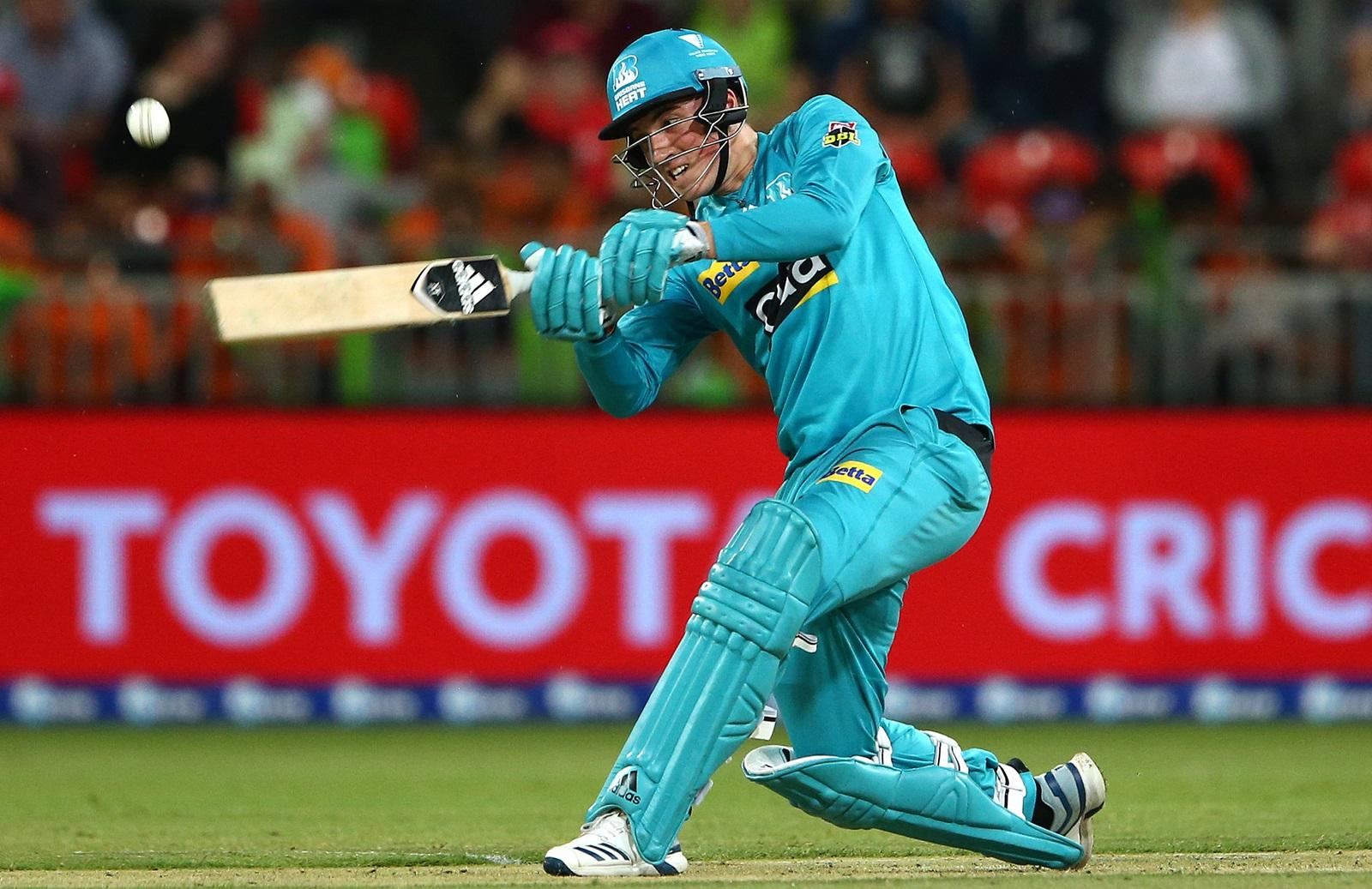 Brilliant Banton Blitz Lifts Heat To Win Over Thunder Cricket Com Au