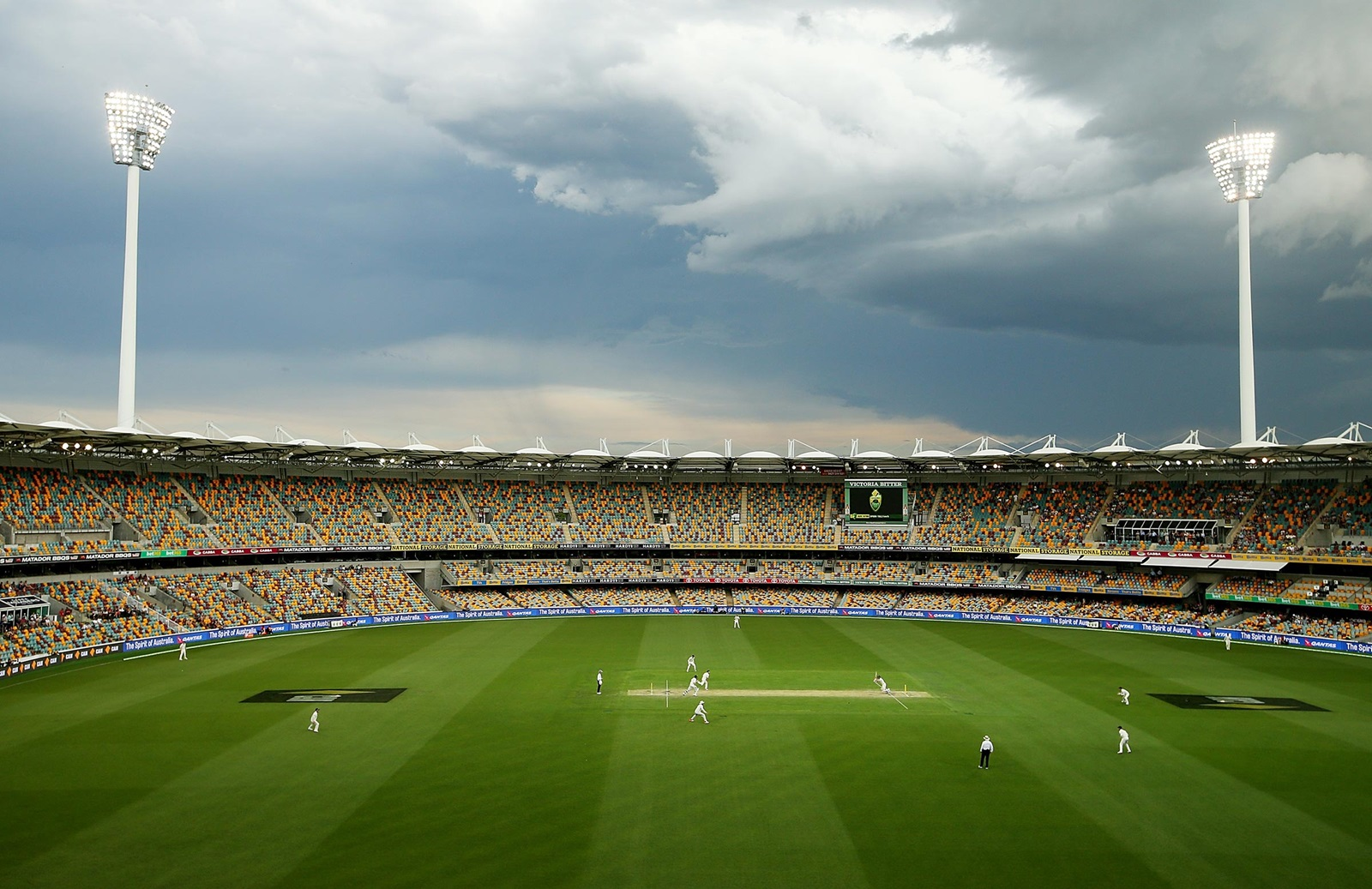 Gabba Test proceeds with reduced capacity masks – cricket.com.au