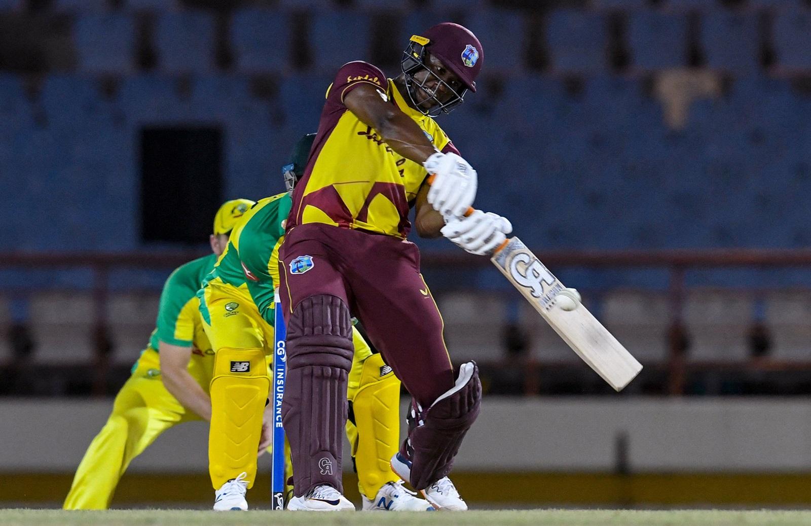 Big Hitting Windies Complete T20 Drubbing Of Aussies Cricket Com Au