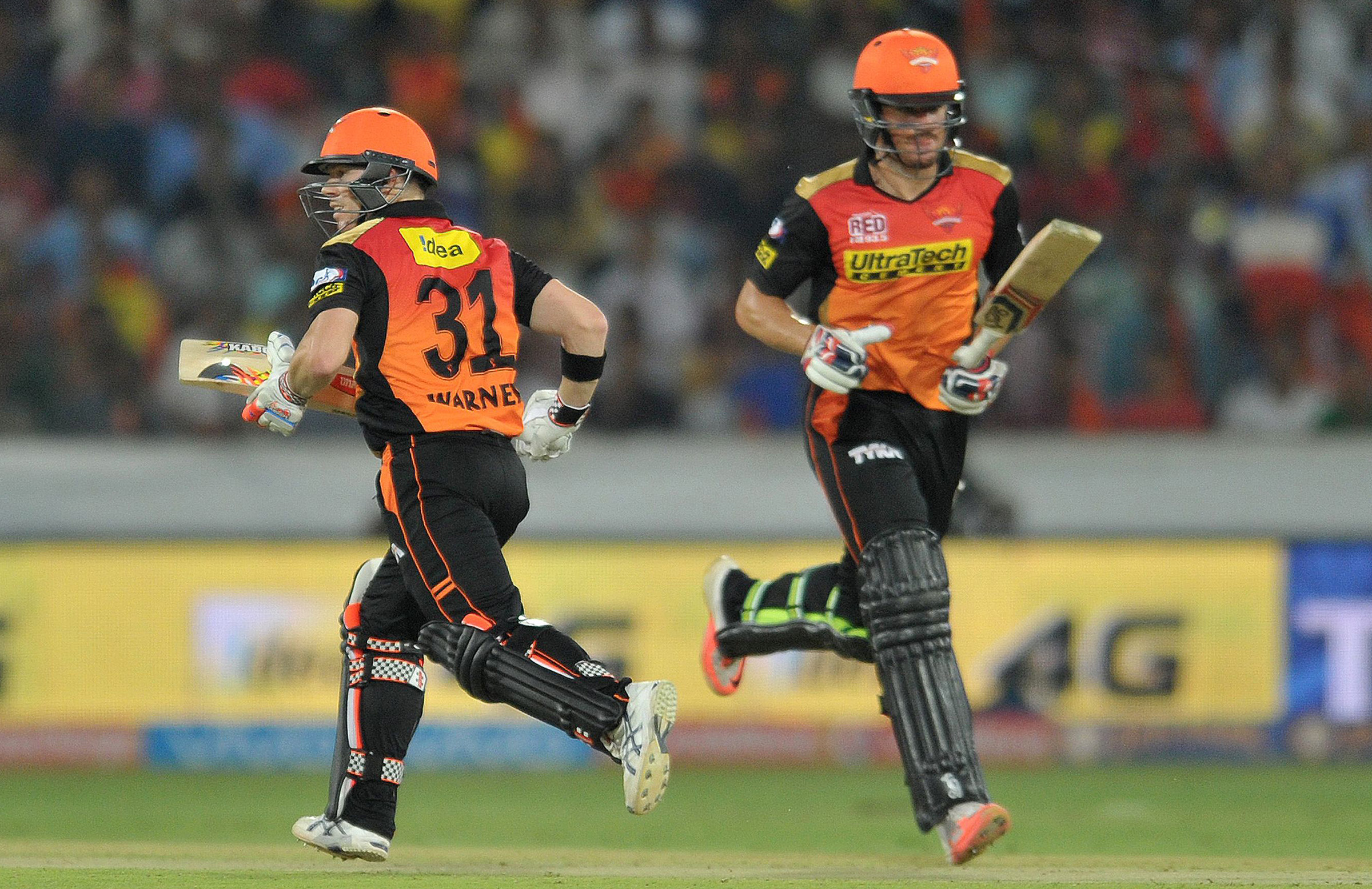 Henriques and Warner have played together at NSW and Sunrisers Hyderabad // Getty