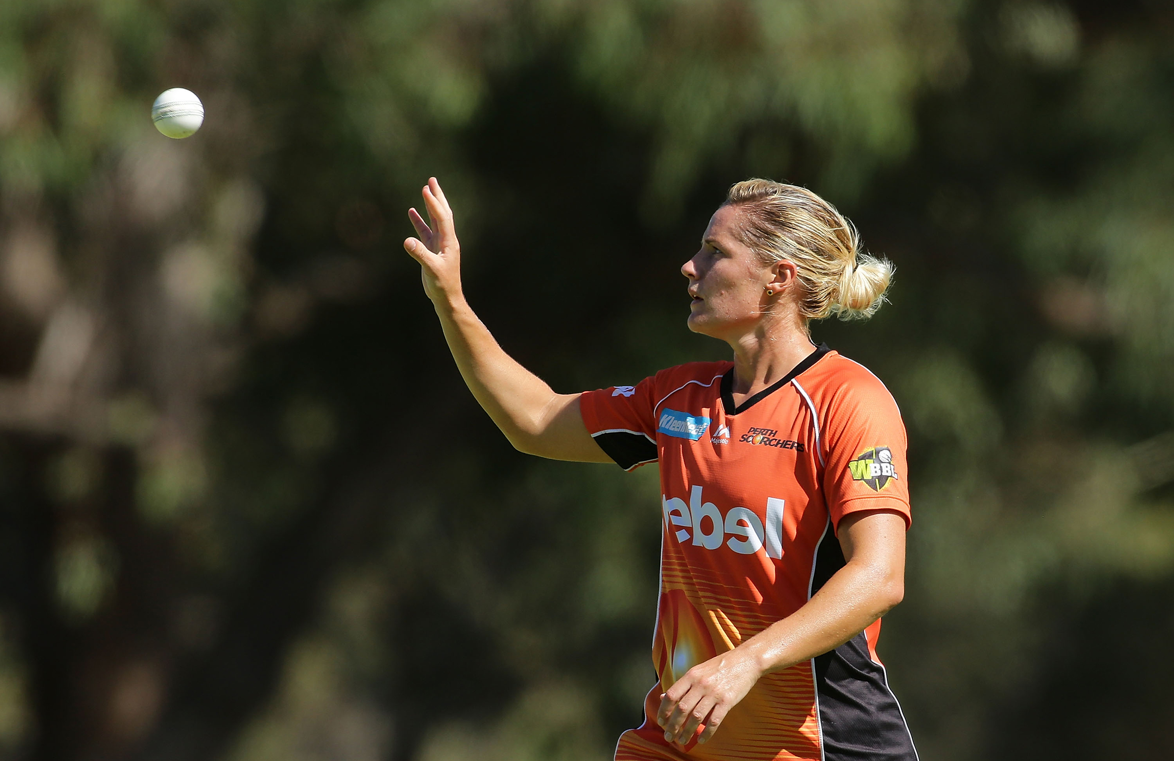 Katherine Brunt has been a top performer for the Scorchers // Getty