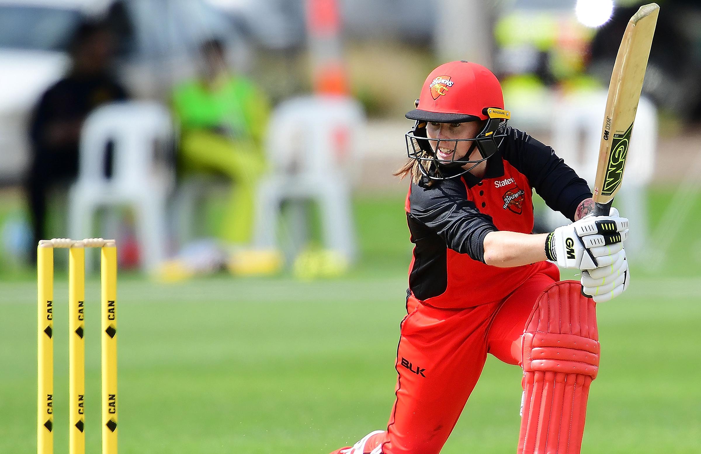 Wellington bats for South Australia on Friday // Getty