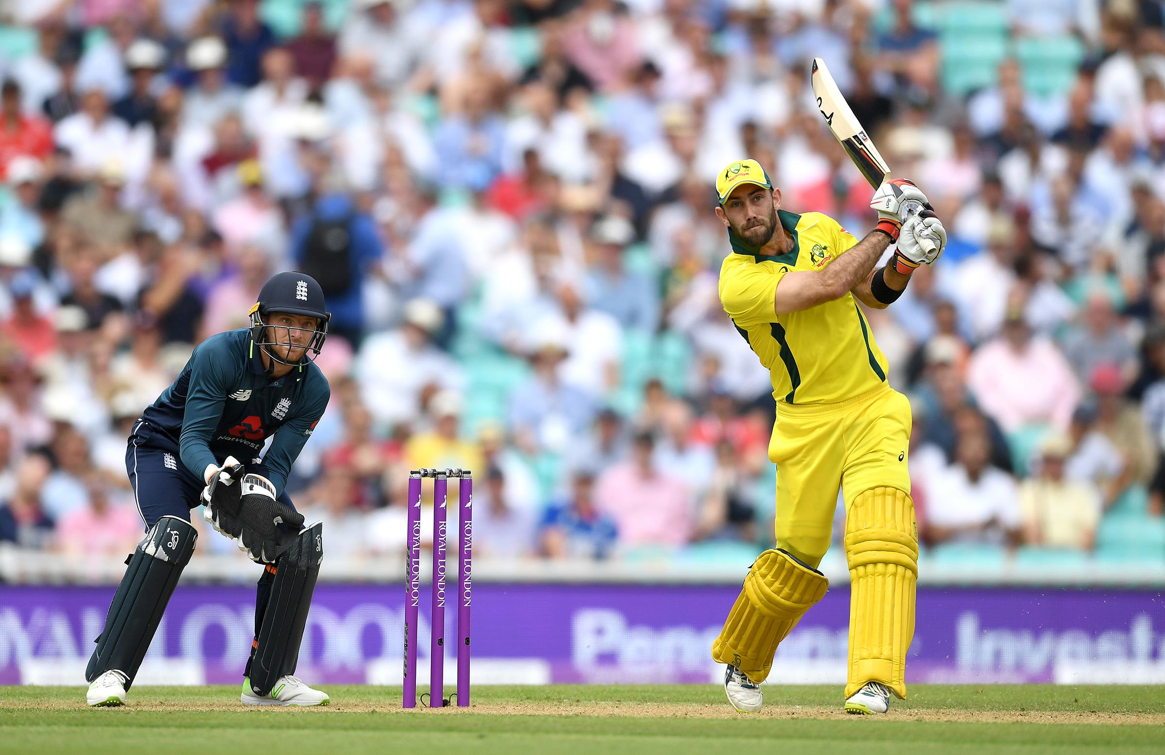 Maxwell eyes another boundary // Getty
