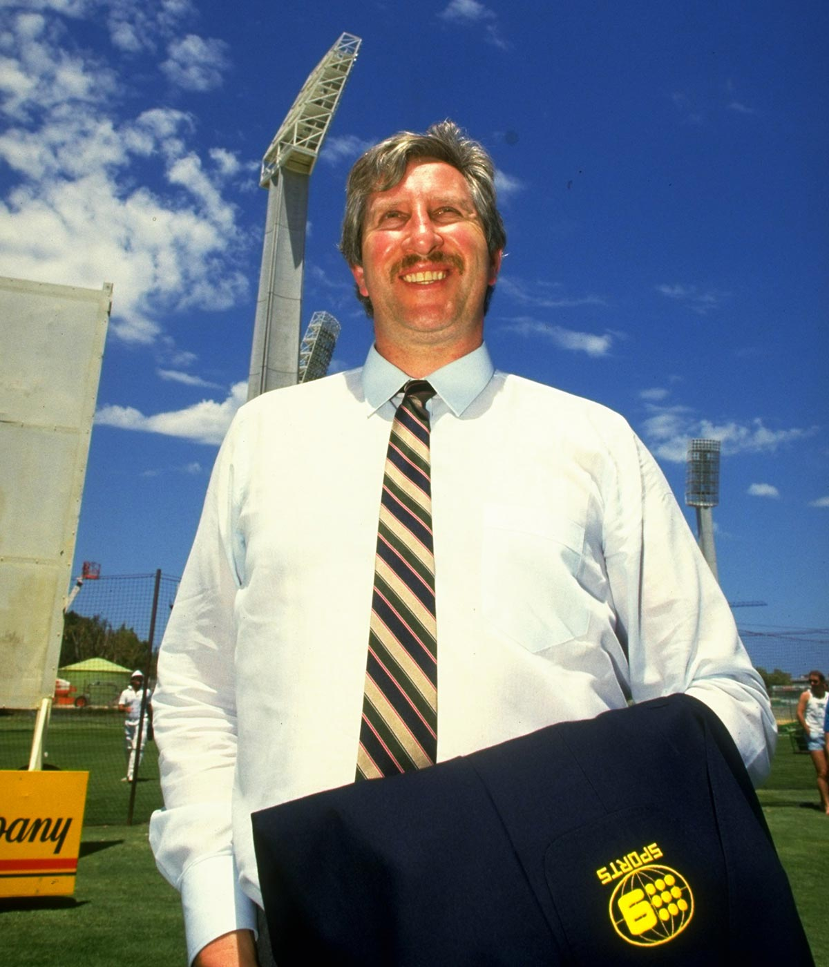 Walker was a part of Channel Nine's iconic commentary team // Getty
