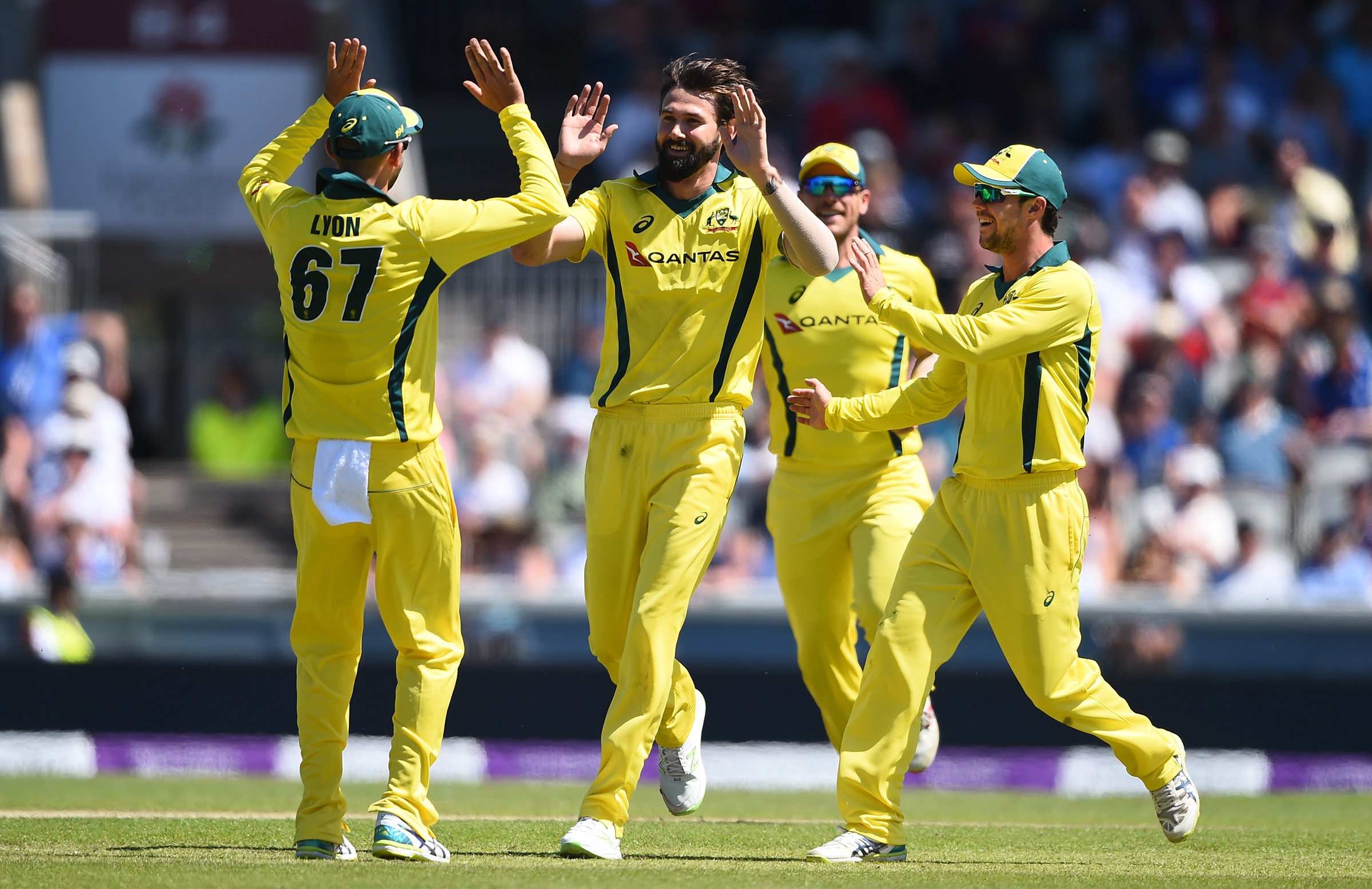 Richardson struck twice in the one over // Getty