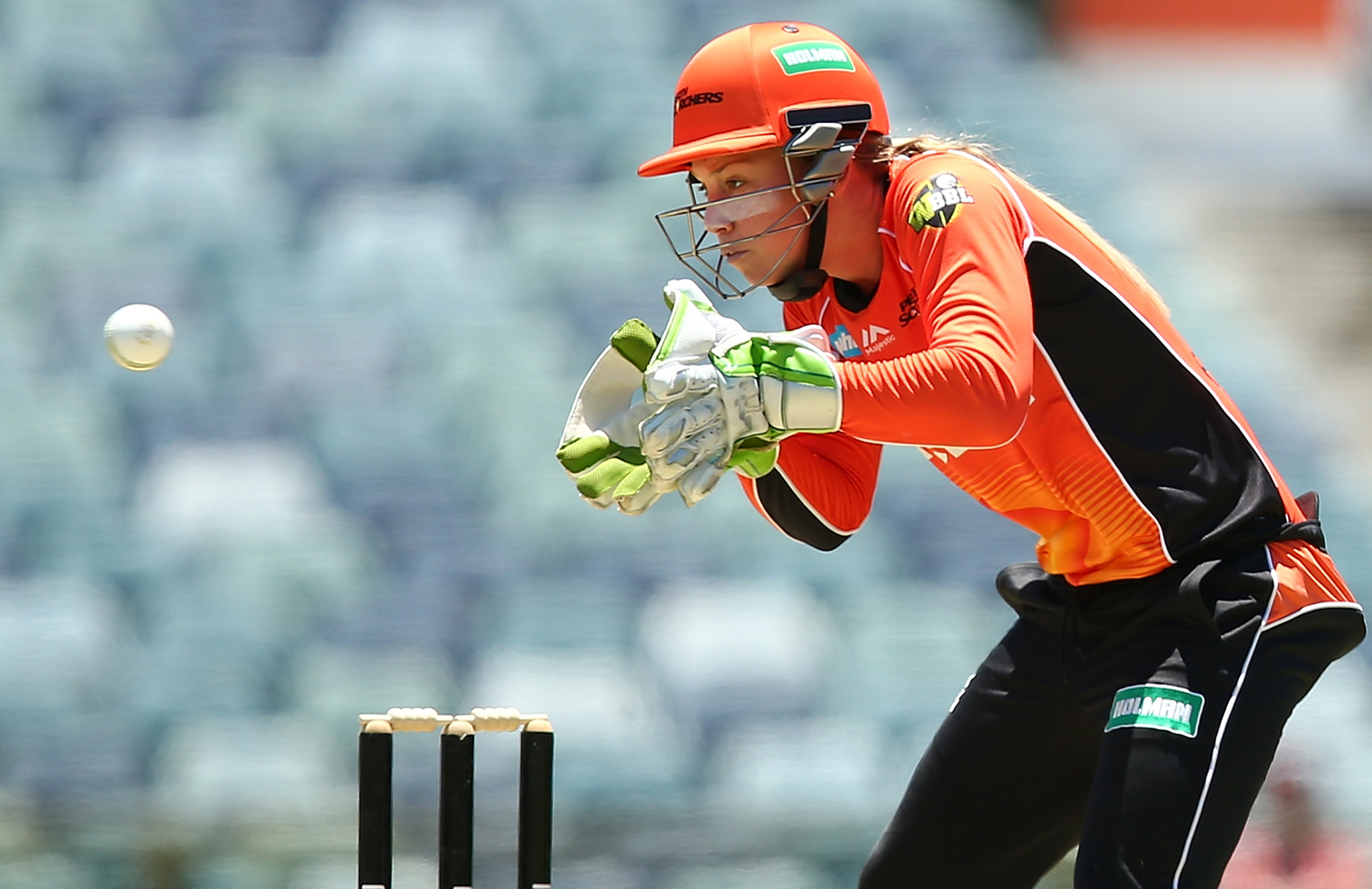 Megan Banting is hoping for a big summer with the Scorchers // Getty