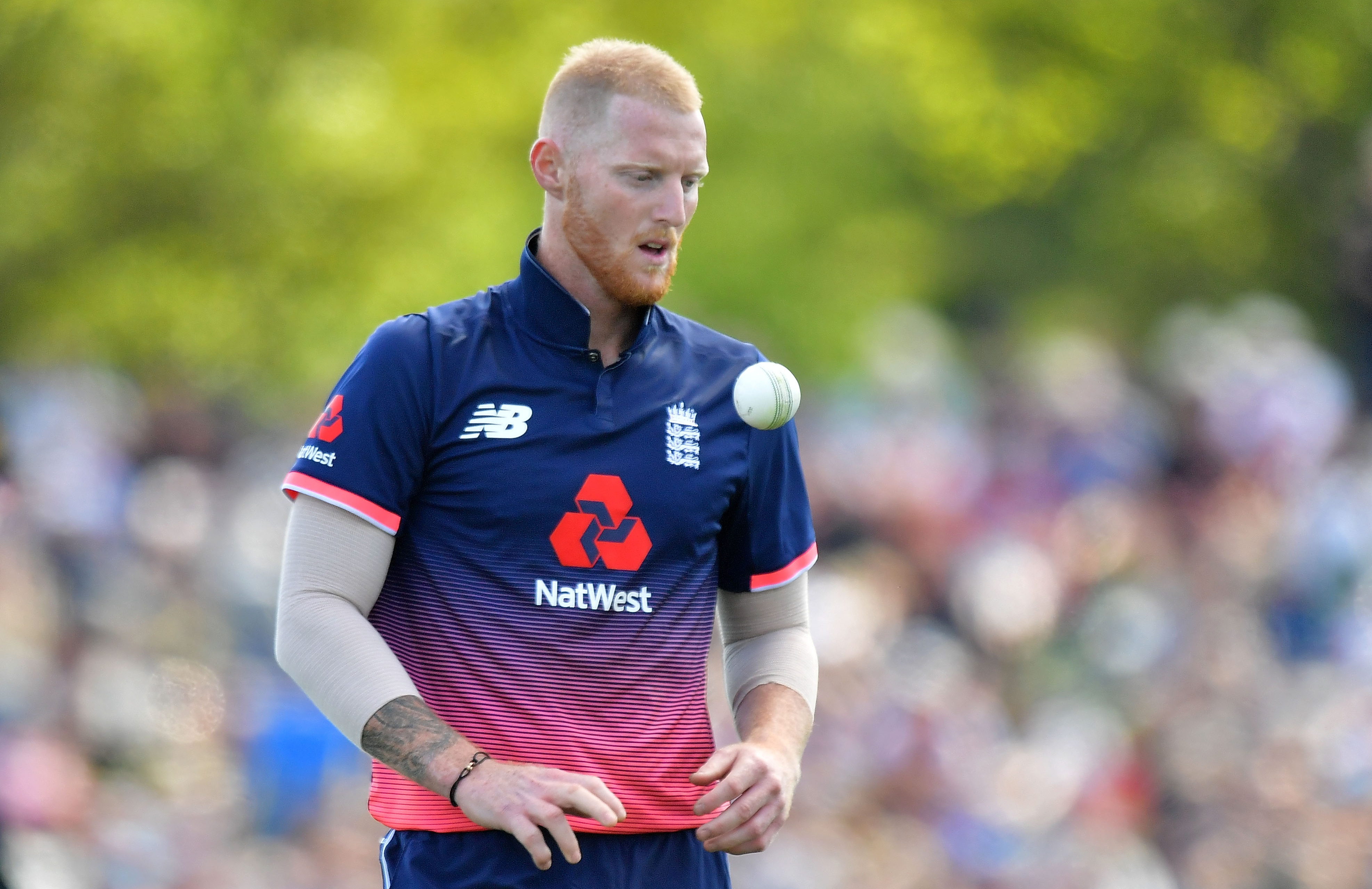 Stokes has been struggling with a back injury // Getty