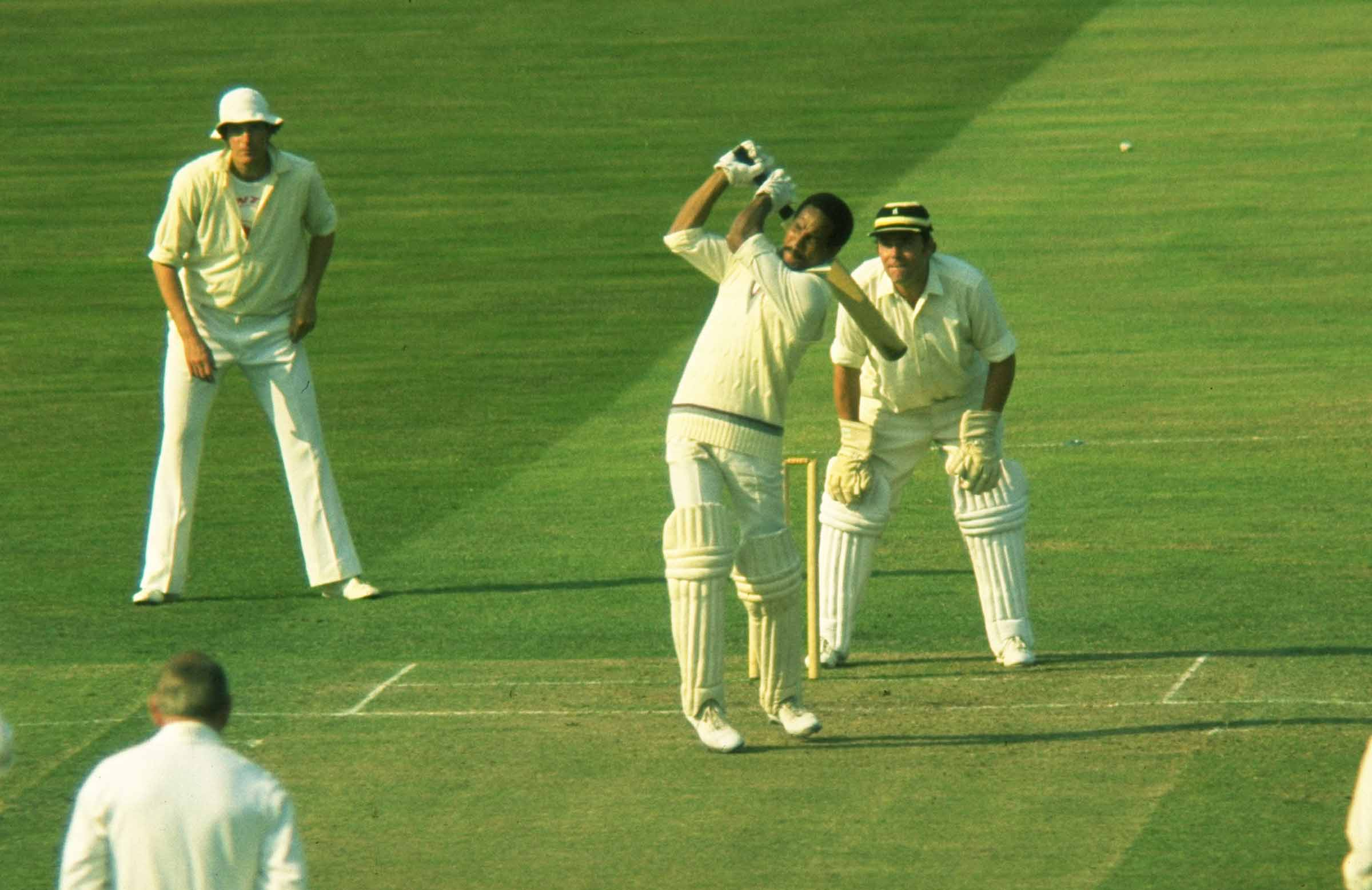 Legendary West Indian Sobers in action in 1972 // Getty