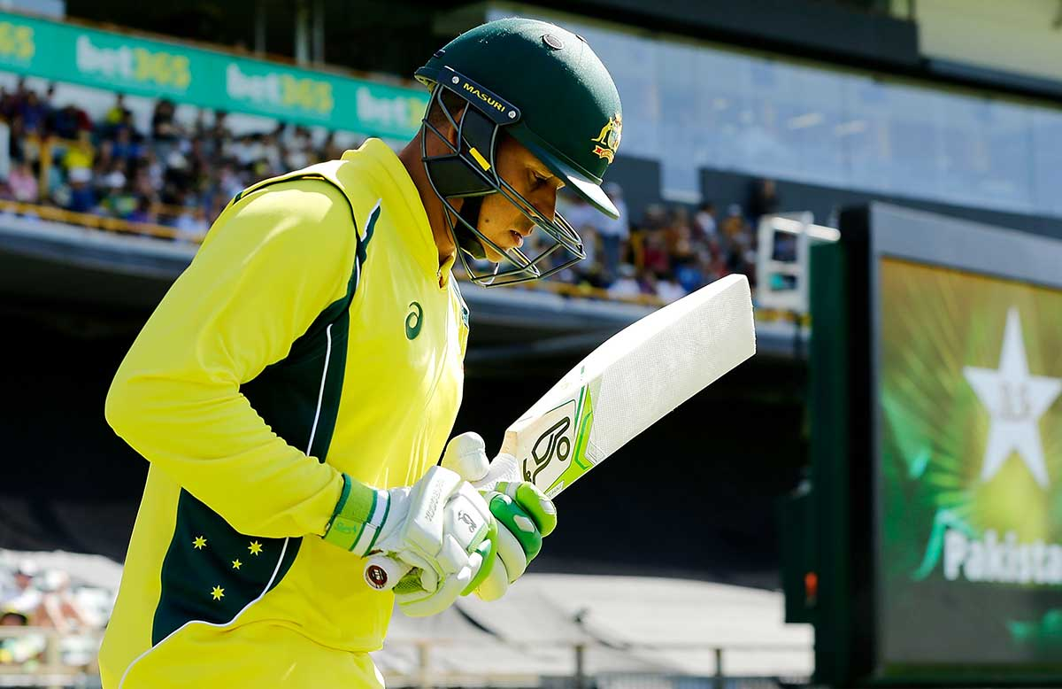 Khawaja's World Cup hopes have been revived by recall // Getty